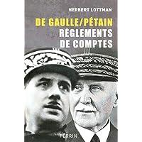 De Gaulle / Pétain