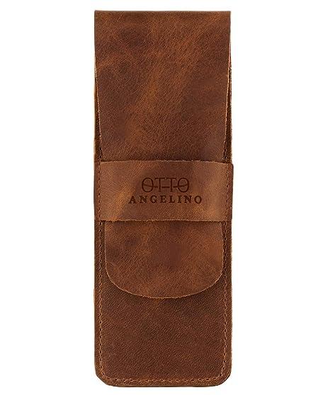 Amazon.com: OTTO - Estuche de piel con funda para lápices ...