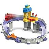 Tomy Chuggington - LC54226 - Jouet de Premier Age - Circuit Répare Wilson
