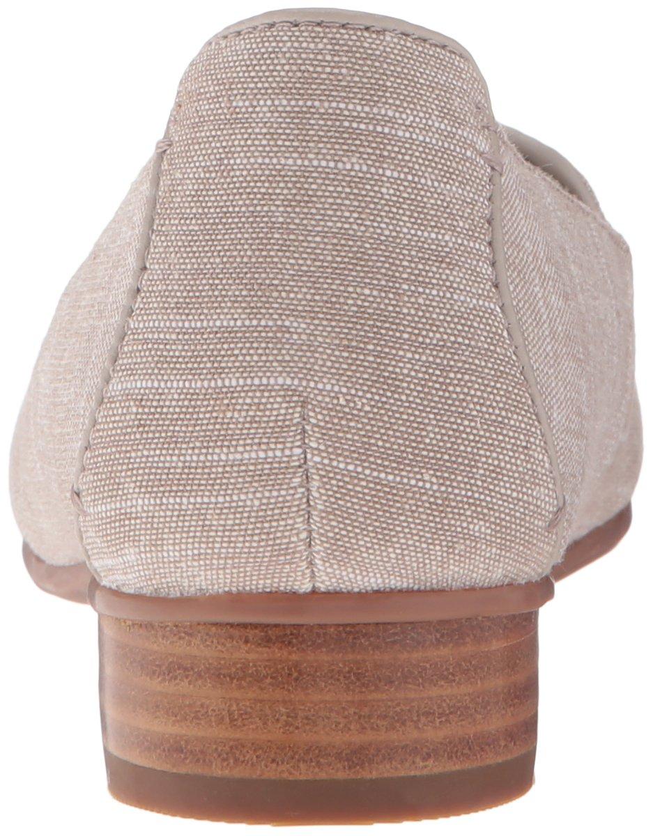 CLARKS Women's Keesha M Luca Slip-On Loafer B01FH9IAFA 8.5 M Keesha US|Taupe Linen cbb369