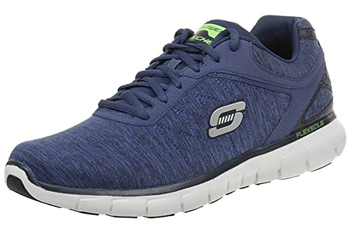 SKECHERS - SYNERGY INSTANT REACTION 51189 - NVY, Size:47.5