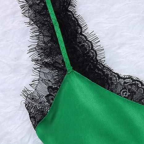 Rcool Camisones Batas y Kimonos Camisones Mujer Camisones Verano Camisones Tallas Grandes Mujer, 2 Piezas de lencería de Encaje Babydoll camisón Ropa de Dormir B: Amazon.es: Ropa y accesorios