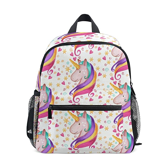 Image Unavailable. Image not available for. Color  LORVIES Unicorn Mini  Kids Backpack Pre-School Kindergarten Toddler Bag fcb1e06dcc78f