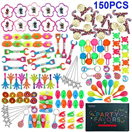CHRISTMAS STOCKING PARTY BAGS FILLERS BOYS GIRLS TOYS 10 PIECE SET OF KIDS TOYS