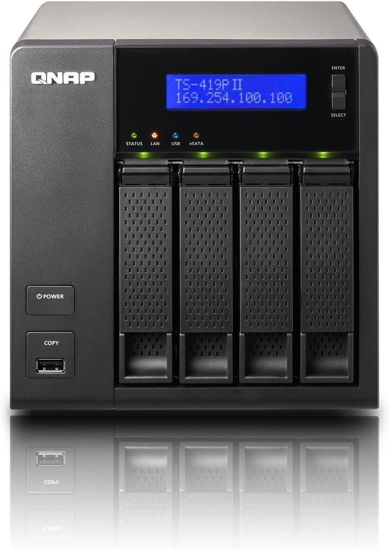 Qnap Ts 419p Ii 4x Sata 2 0ghz Ohne Festplatten Computer Zubehör