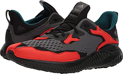 on sale 8b052 04557 adidas x Kolor Men s Alphabounce Kolor Hi-Res Red Core Black Grey Five
