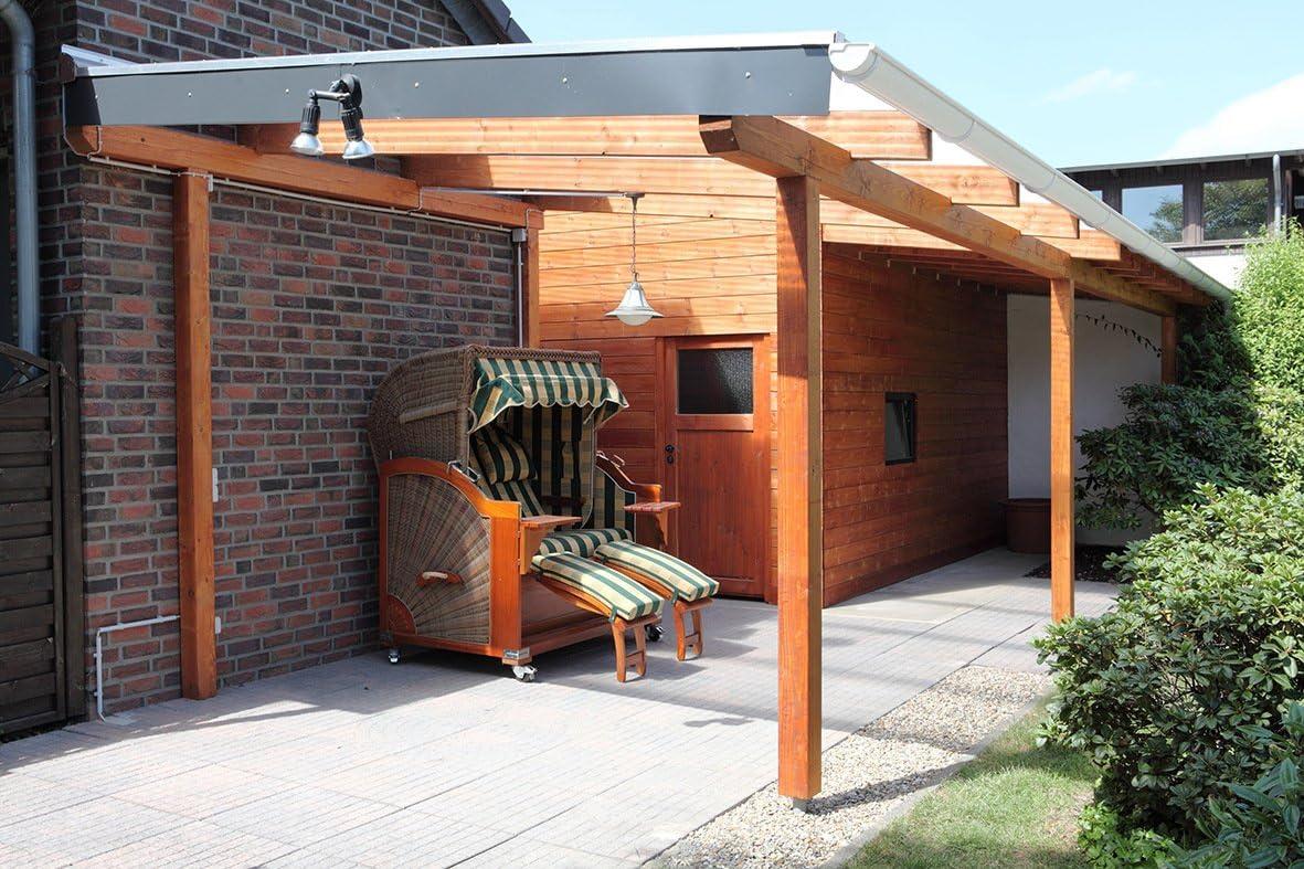 INEFA Kit para techo de terraza NW 100, blanco, longitud hasta max ...