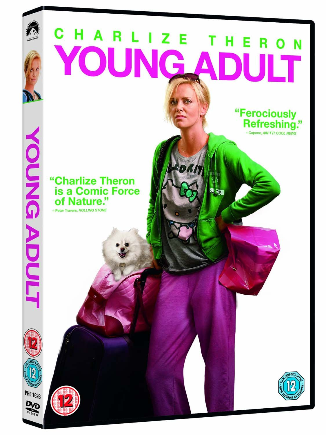 Young Adult [DVD] [2011]: Amazon.co.uk: Charlize Theron, Patton Oswalt,  Patrick Wilson, Elizabeth Reaser, Colette Wolfe, Jill Eikenberry, Mary Beth  Hurt, ...