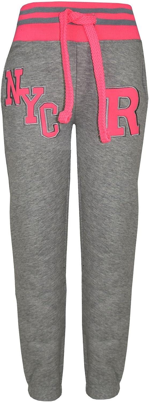 A2Z 4 Kids/® Kinder M/ädchen Jungen Baseball Trainingsanzug NYC FOX T.S Baseball NYC Grey Neon Pink 13.1