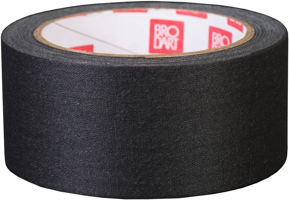 BRODART negro libro de tela cinta de reparación 50 mm x 13,7 m: Amazon.es: Hogar