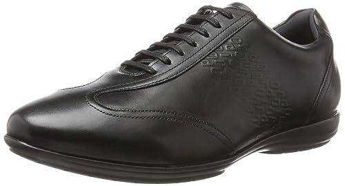 JOOP JoopVido New Raimon Sneaker Lfu - Low-Top Uomo, Nero (Nero (Nero)), 45