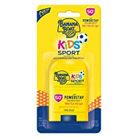 Banana Boat Kids Sport Broad Spectrum Sunscreen Stick with SPF 50, 0.5 Ounce