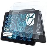 Bruni Schutzfolie für Acer One 10 (S1003-130M) Folie - 2 x glasklare Displayschutzfolie
