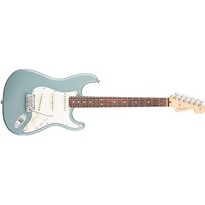 American Pro Stratocaster Sonic Gray RW + Etui