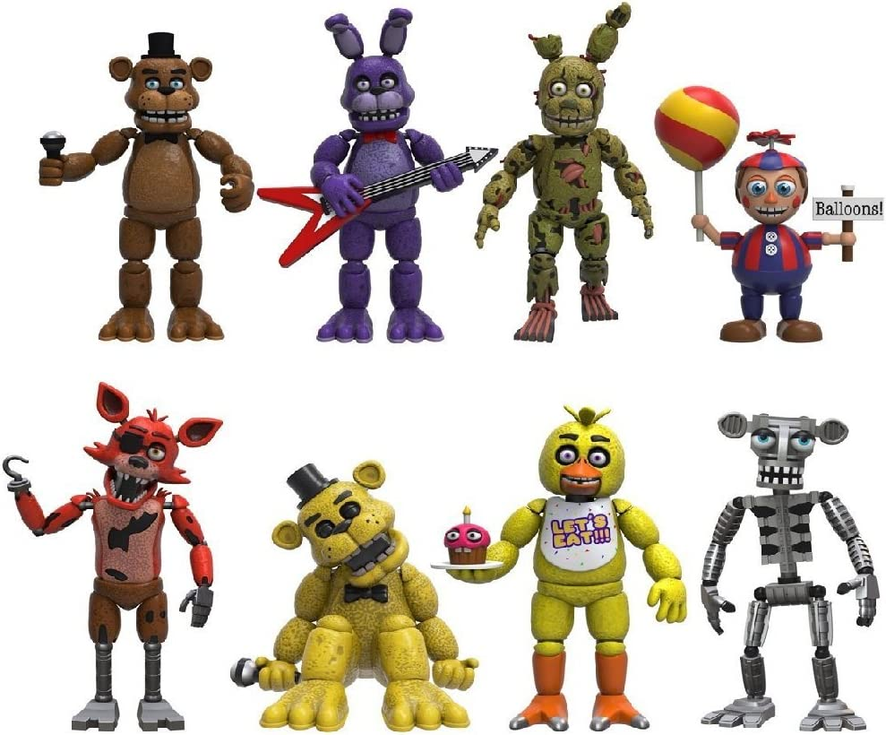 Funko Five Nights at Freddys 4 Figure Pack 1 & Pack 2: Amazon.es: Juguetes y juegos