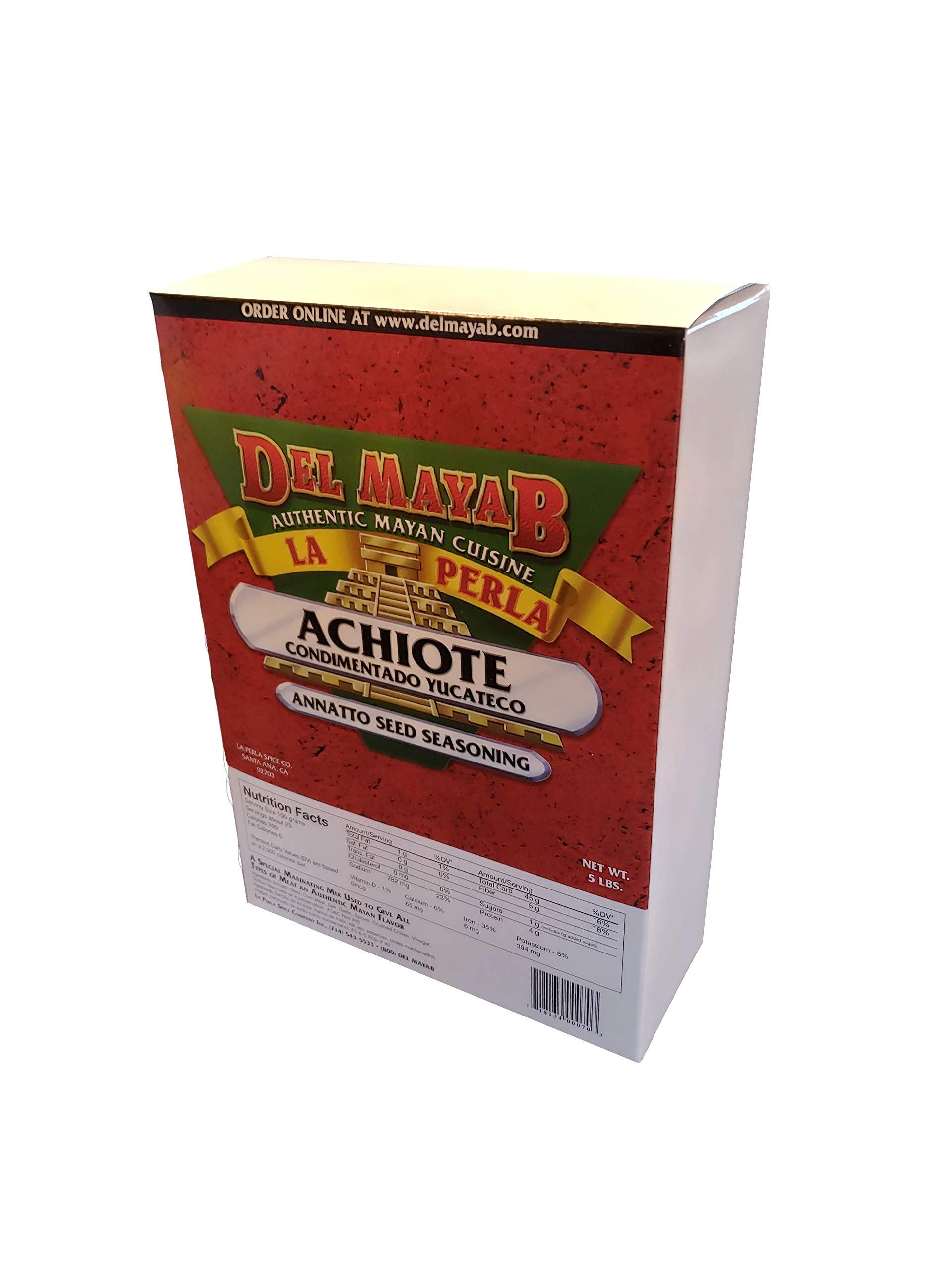 La Perla Del Mayab Achiote Seed Seasoning (5 lbs)