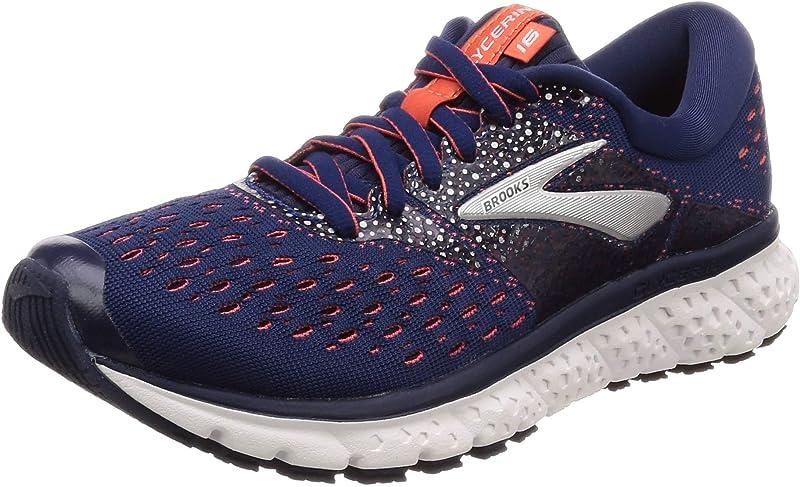 Brooks Glycerin 16 Sneakers Laufschuhe Damen Marineblau/Coral