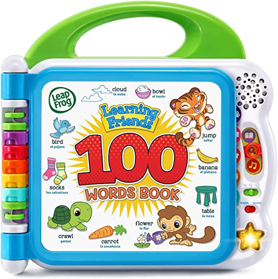 Amazon.com: LeapFrog Learning Friends 100 Words Book (Frustration Free Packaging), Green: Toys & Games