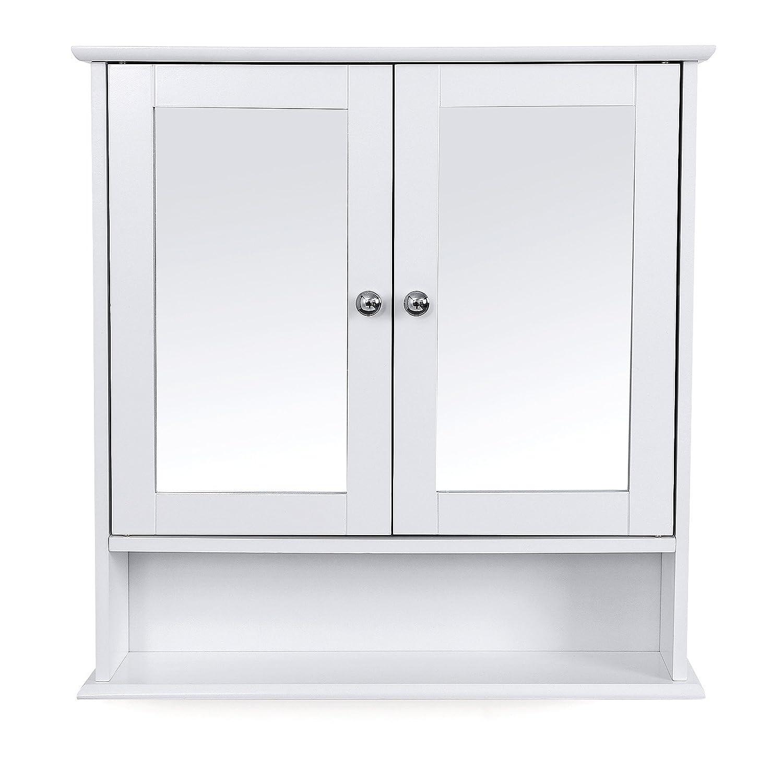 Miroir salle de bain avec tablette et clairage free for Miroir eclairant ikea