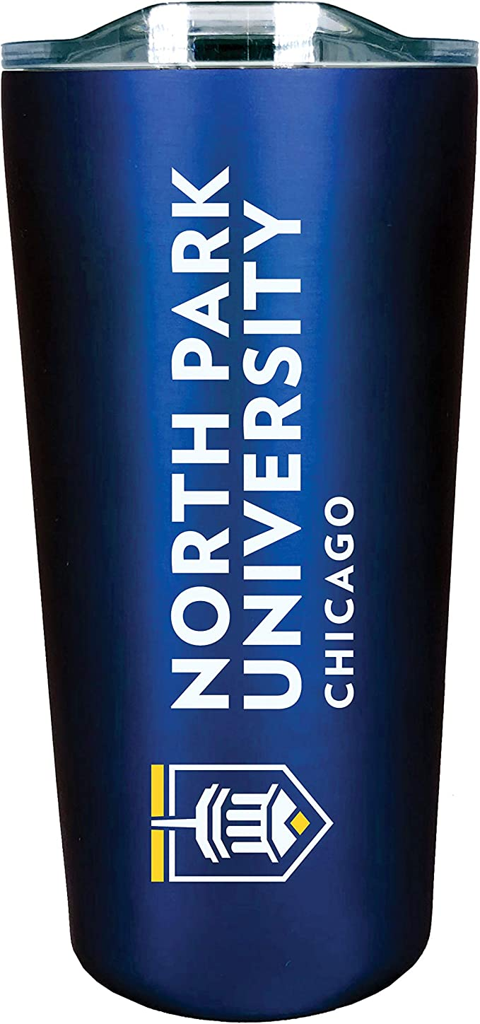 Design-2 The Fanatic Group Anderson University Double Walled Soft Touch Tumbler Silver