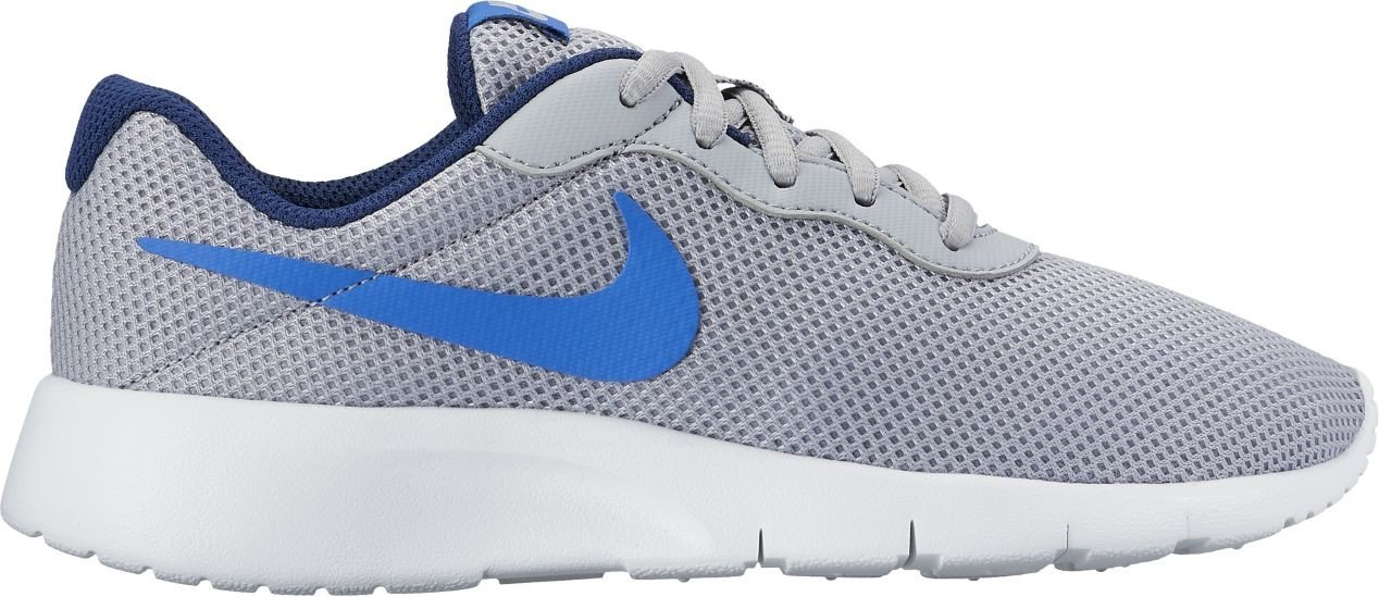 Nike Tanjun (Gs) - wolf grey/comet blue-binary bl  6.5Y
