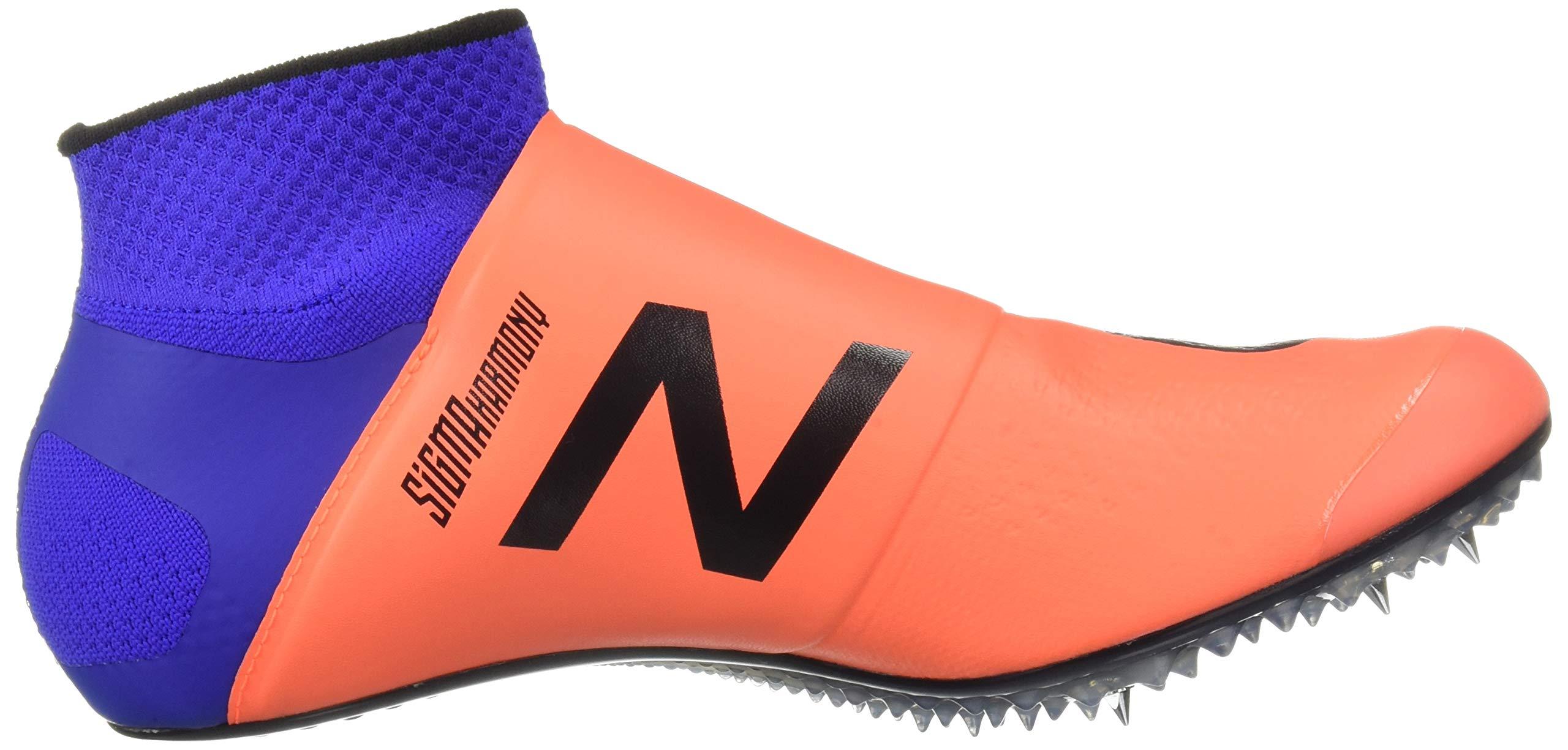 New Balance Men's Sigma Harmony Vazee Track Shoe Dark Mango/uv Blue 5 D US by New Balance (Image #7)