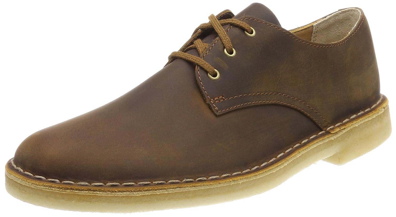 TALLA 46 EU. Clarks Desert Crosby, Zapatos de Cordones Derby para Hombre