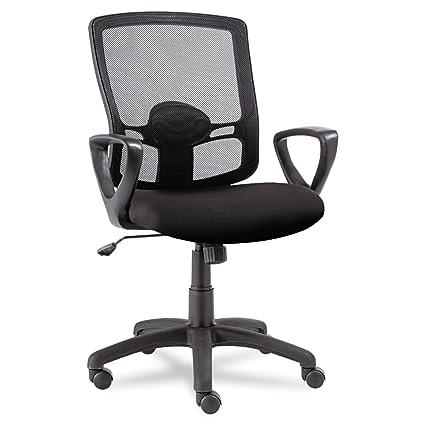 amazon com alera etros series mesh mid back swivel tilt chair