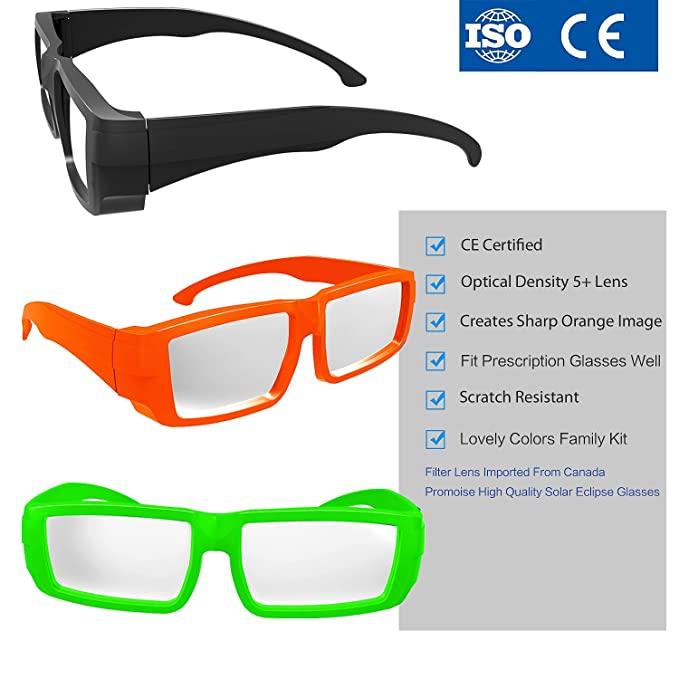 solar eclipse glasses ce and iso certified - safe solar viewing ...