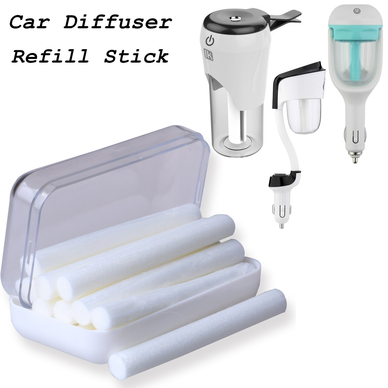 nanum car humidifier filter wicks car essential oil diffuser replacement sticks 12 pack