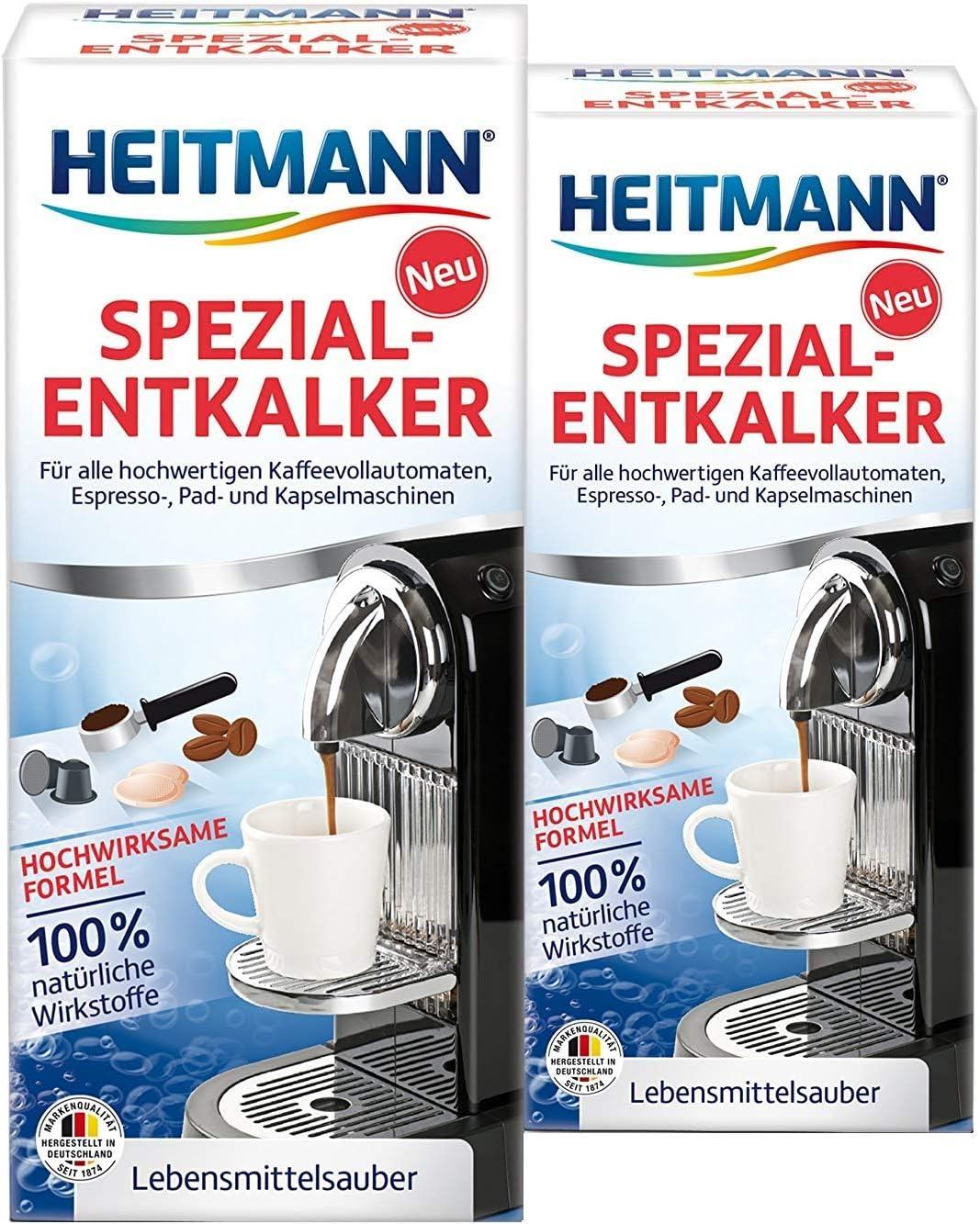 Heitmann - Descalcificador automático de cafetera: Amazon.es: Hogar