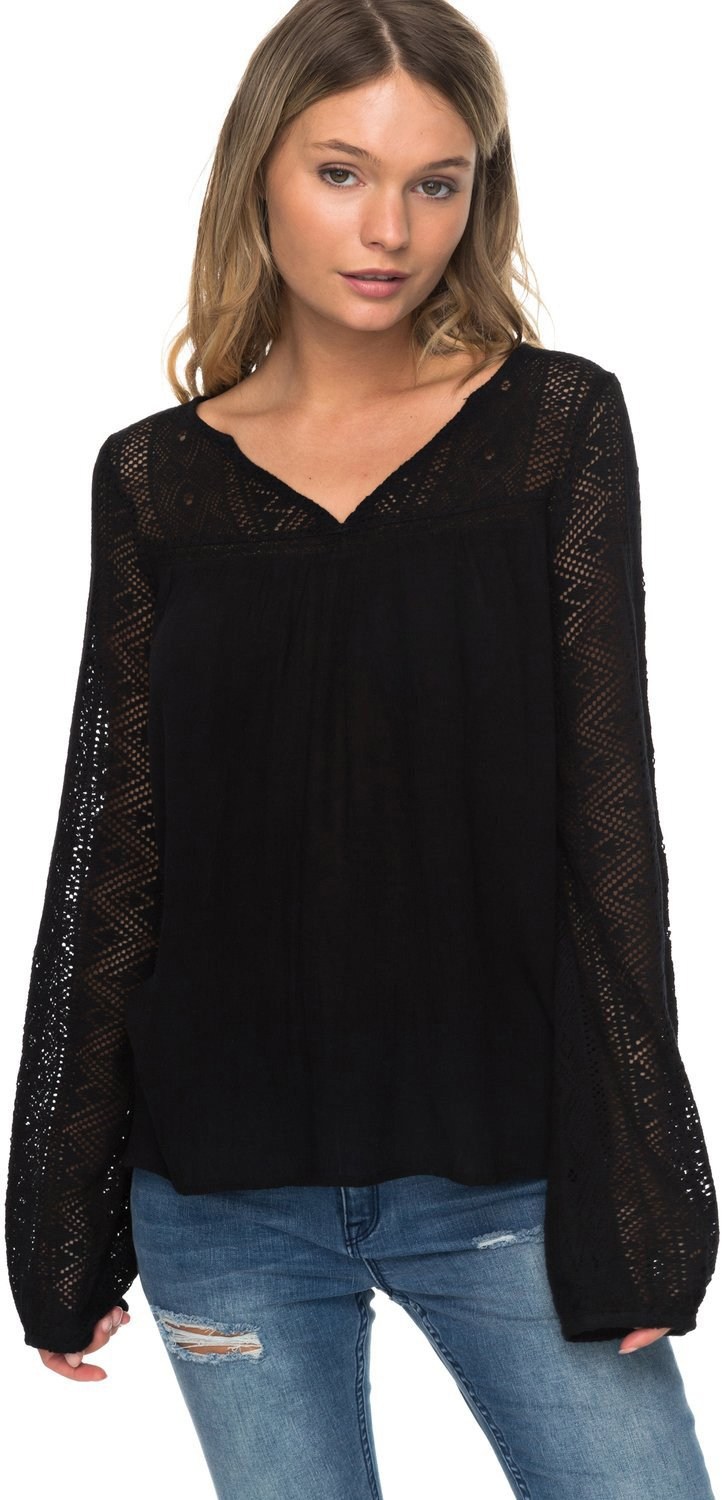 Roxy Junior's Island Dreaming Top, Anthracite, S