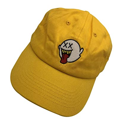 92e5f8c42ab Image Unavailable. Image not available for. Color  JSMeet Embroidery  Distressed Boo Mario Ghost Baseball Cap 3D Embroidery Dad ...