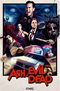 LIUXR Ash VS The Evil Dead Season 2 Poster and Prints Wall Art Canvas Painting Decoraciones de Pared Imágenes Decoración para el hogar -50x70cm Sin Marco
