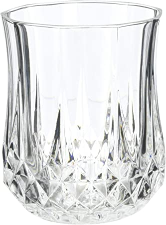 Cristal d'Arques Longchamp - Juego de 6 vasos de whisky 230ml, sin la marca de llenado