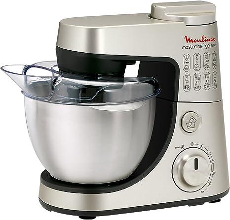 Moulinex QA405HB1 - Robot De Cocina Masterchef Gourmet Con Bol De ...