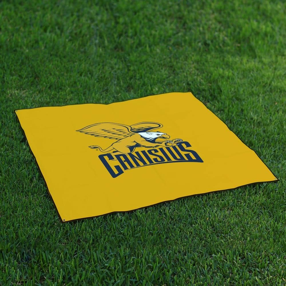 Canisius College Golden GriffinsテールゲートBlanket Legacy B0711HPHKB