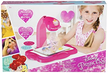 SAMBRO- Princesas Disney Proyector Portátil Infantil, Color Rosa ...