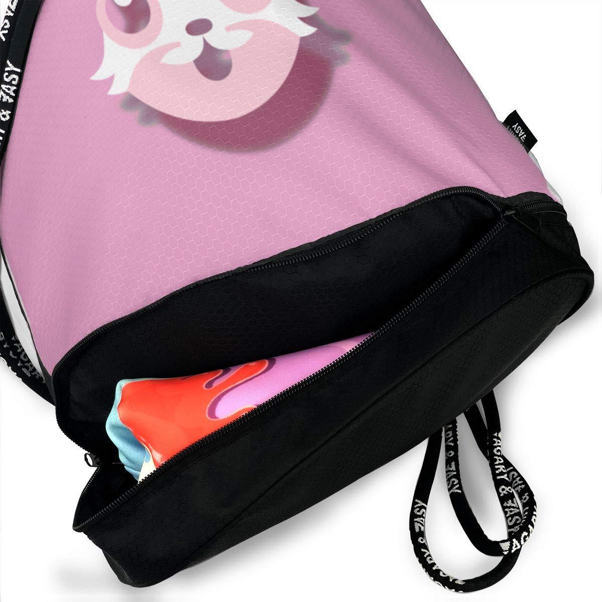 The Creative Crypto Cat Drawstring Bag Multipurpose Bundle Dance Bag Sack Pack