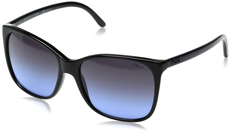 Gafas 0ra5221 negras negro mujer greysolidpolarized Ralph 137781 sol Lauren 54 para de UFwrpUq6
