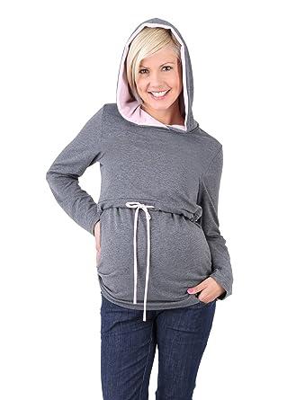 Mama - Jersey - Cuello Redondo - Manga Larga - para Mujer  Amazon.es  Ropa  y accesorios ab126d05198b