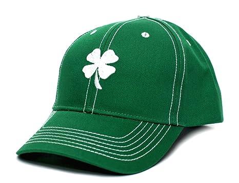 01c84f9c7 Ireland Irish Shamrock Clover Leaf St Patricks Day Embroidered Hat Cap Green