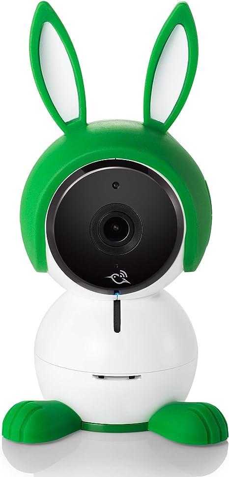 HomeKit Air Sensors Lullaby Player Night Light Smart WiFi Baby Camera 1080P HD with 2-Way Audio Works with  Alexa Night Vision Arlo Baby Monitor