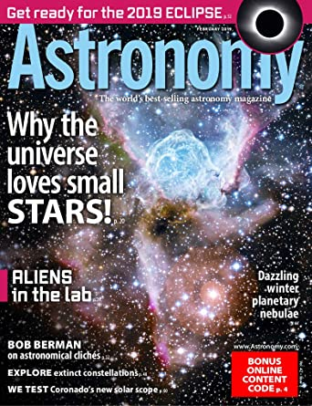 Amateur astronomer magazine