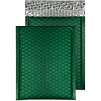 Blake Padded Bubble Mailer, 7 x 9 7/8 Inches, Protective Envelopes, Alpine Green, Peel & Seal (MTBRG250/10-76) - Pack of…