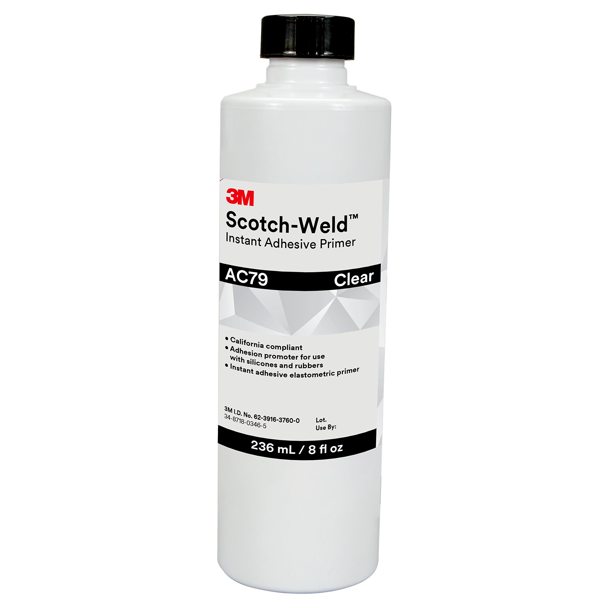 3M Scotch-Weld 31389 Instant Adhesive Primer AC79, 236 mL, 8 fl. oz.