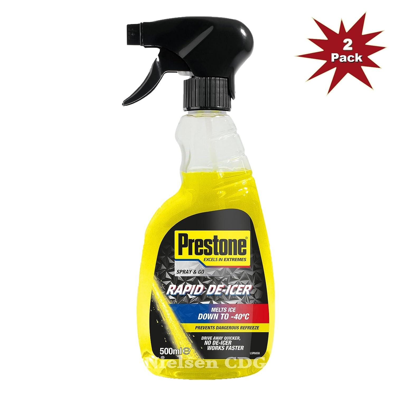 Líquido anticongelante Prestone, pulverizador, -40°C, 2 unidades de ...