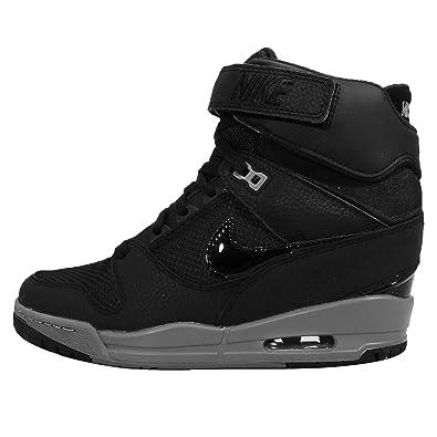 promo code 24423 2a839 Nike Wms Air Revolution Sky Hi Chaussures de sport pour femme - noir - noir,
