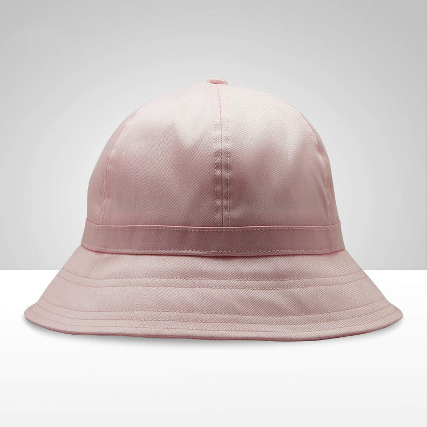 Bucket Hat Women Summer Autumn Fishing Hat Solid Color Bucket Hats with Ribbon Bob Hat Black Cap Hip Hop New