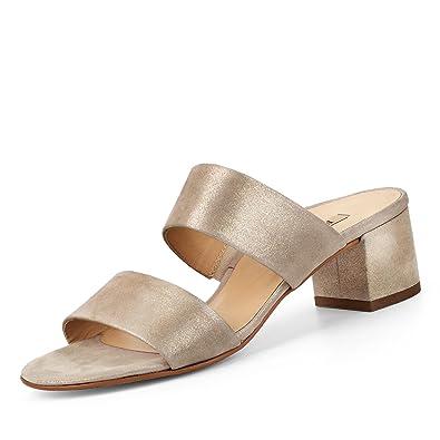 best service addbb fa5f3 Paul Green Pantolette Beige: Amazon.fr: Chaussures et Sacs